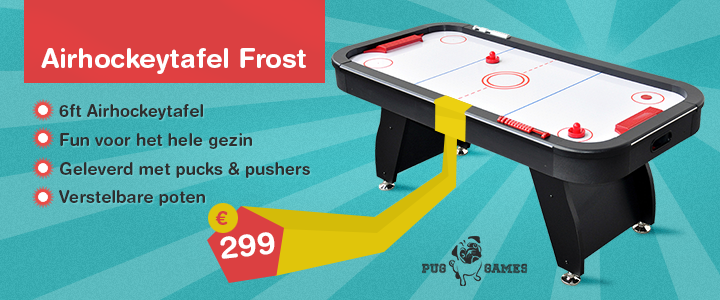 Airhockeytafel Frost
